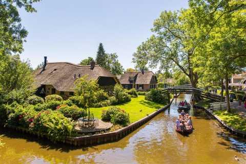 De Amsterdã: Excursão de 1 Dia Giethoorn e Afsluitdijk