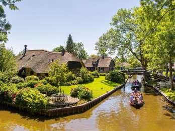 Ab Amsterdam: Giethoorn & Abschlussdeich - Tagestour