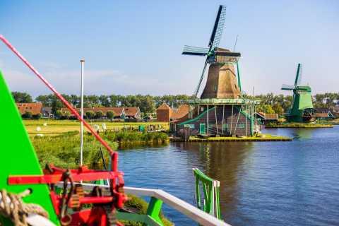Byar och väderkvarnar Zaanse Schans Small Group Tour