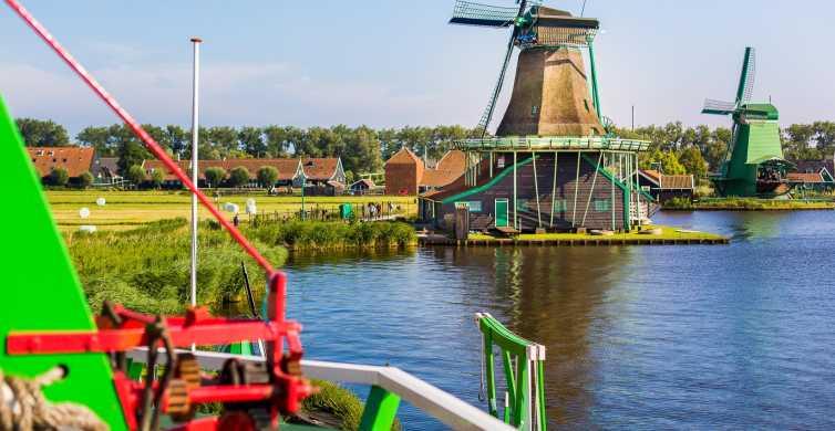 Zaanse Schans: tour pueblos y molinos en grupo reducido