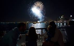Chicago: Navy Pier Fireworks and Skyline Lake Cruise