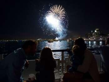 Chicago: Navy Pier Feuerwerk & Architektur-Bootsfahrt