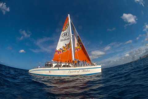 Big Island: 1.5-Hour Romantic Sunset Sail from Waikoloa