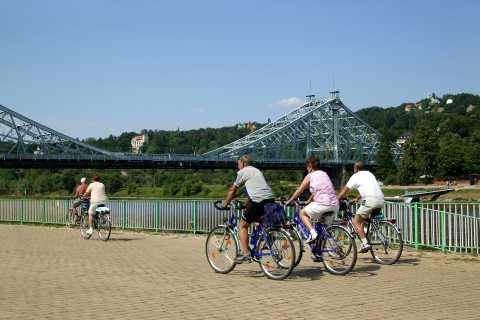 Schnitzeljagd mit dem Fahrrad von Dresden nach Pillnitz