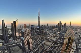 Dubai: Tagestour mit optionalem Mittagessen