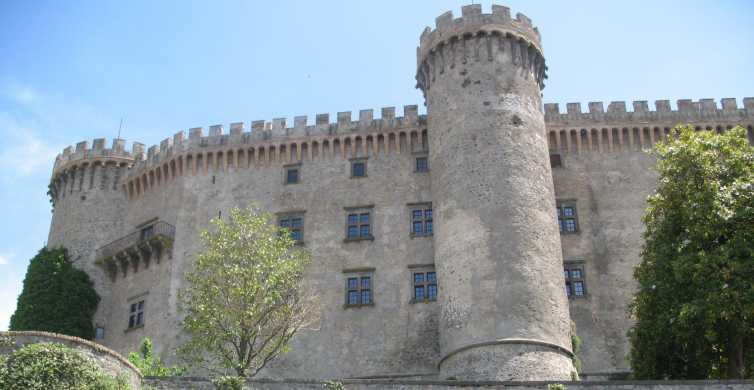 Bracciano: tour Castello Odescalchi, città e pranzo