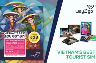 Saigon: SIM-Karte mit unbegrenzten Daten (mit Lieferung)