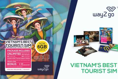 Saigon: Unlimited Data SIM Card with Free Hotel Delivery