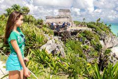 De Cancún e Riviera Maya: Excursão de 1 Dia a Tulum e Cenote