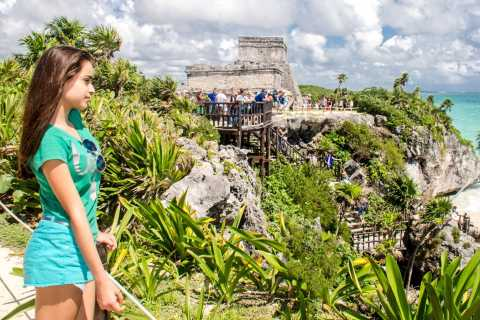 From Cancun & Riviera Maya: Day Trip to Tulum and Cenote