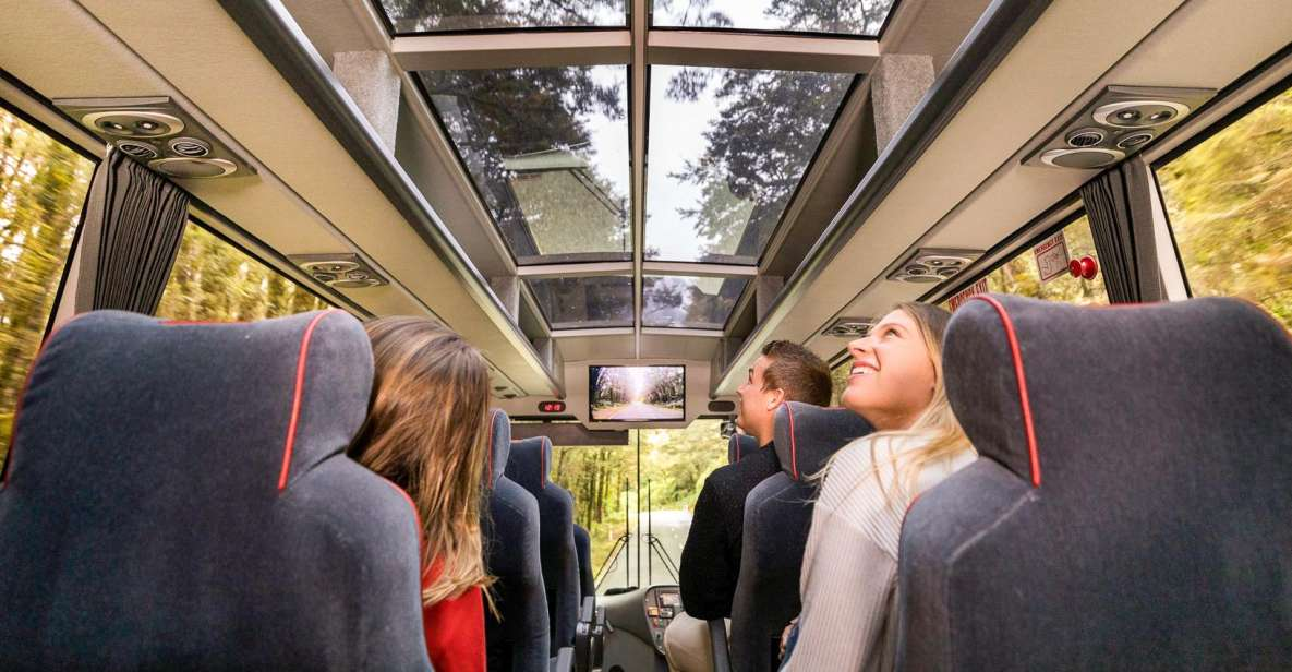 Ab Queenstown: Milford Sound Ganztagesausflug mit Bus und Boot