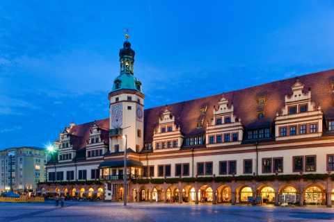Scavenger Hunt through Leipzig City Center in German