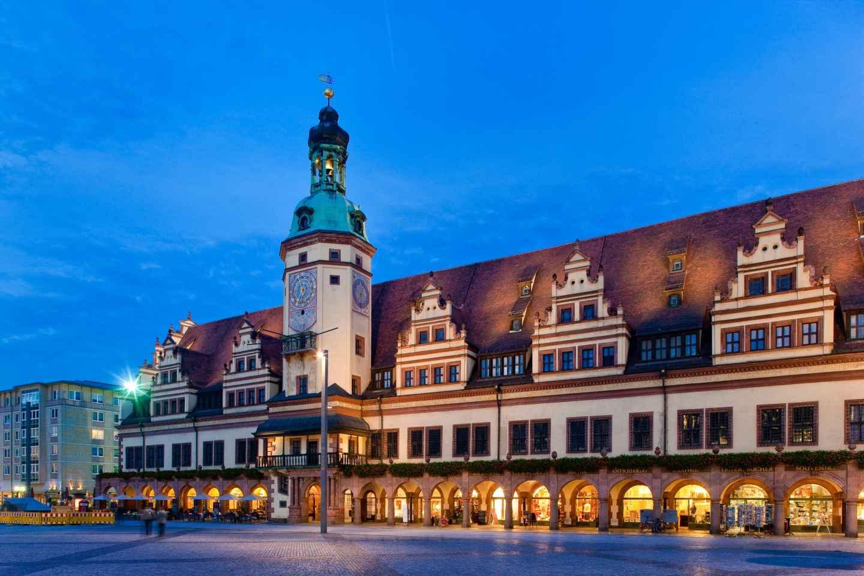 Leipzig: Schnitzeljagd durch die Innenstadt auf Deutsch