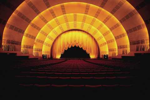 New York: Radio City Stage Door Tour Ticket