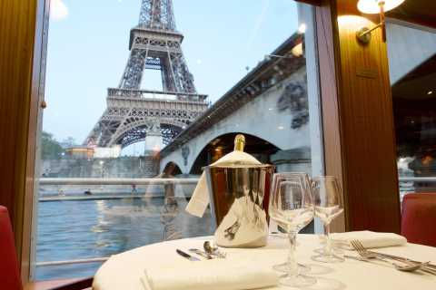Paris: Seine River Cruise & Brunch with Panoramic View