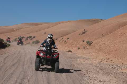 Marrakech Quad Bike Experience: Desert and Palmeraie