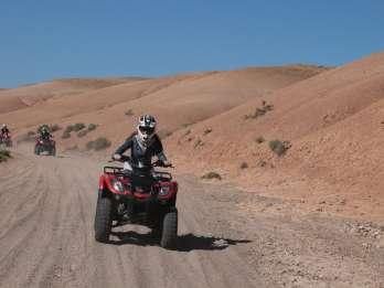Marrakesch: Quad-Tour in die Wüste und zur Oase Palmeraie