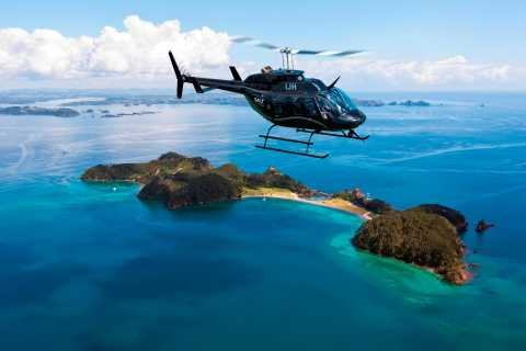 Bay of Islands: Malerische 30-minütige Küsten-Entdeckungs-Heli-Tour