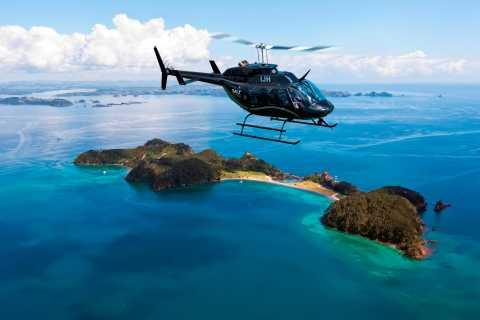 Bay of Islands: Scenic 30-Minute Coastal Discovery Heli Tour