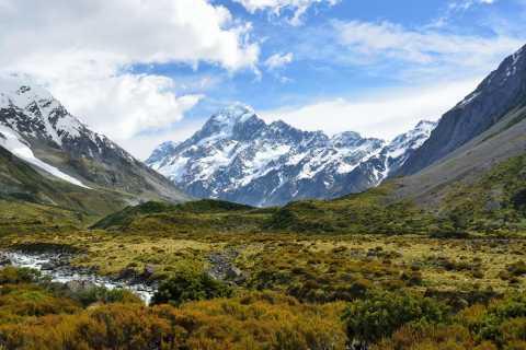 Mount Cook & Lake Tekapo Day Tour from Christchurch