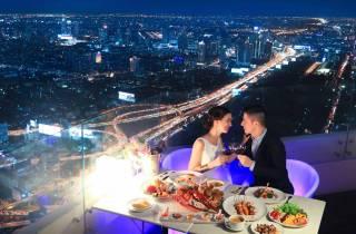 Bangkok: Dinner mit Aussicht auf der 81. Etage des Baiyoke