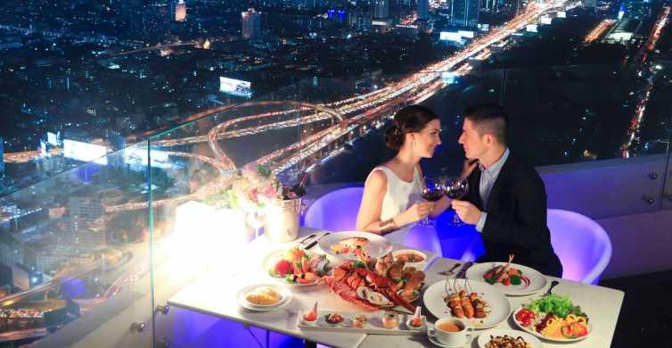 Baiyoke Sky Hotel: Bangkok Balcony Buffet e osservatorio