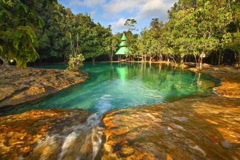 Krabi Jungle Tour: Tiger Temple, Hot Springs & Crystal Pool