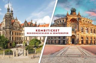 Dresden: Semperoper und Residenzschloss