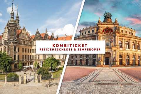 Dresden: Semperoper and Royal Castle