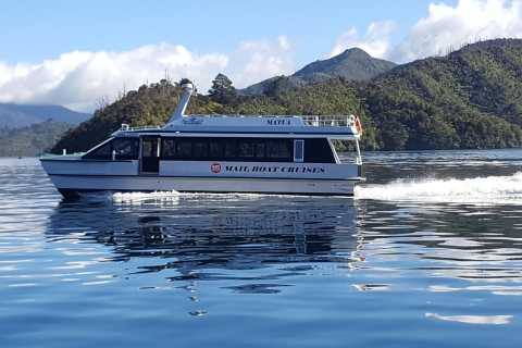 Queen Charlotte Sound Mail Boat Cruise from Picton