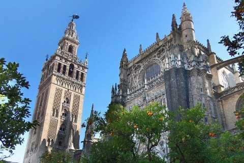 Siviglia: tour guidato con ingresso cattedrale e Giralda