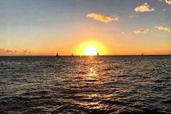 Waikiki Glass Bottom Boat cruzeiro ao pôr do sol de Honolulu