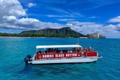 Oahu: Excursão de barco à beira-mar de vidro em Waikiki