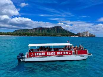 Oahu: Glasbodenboot-Tour am Nachmittag in Waikiki