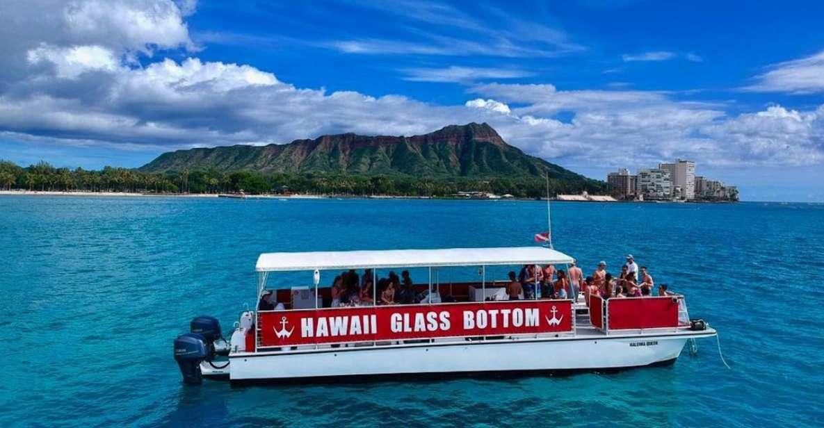 Oahu: Glasbodenboot-Tour am Nachmittag in Waikiki