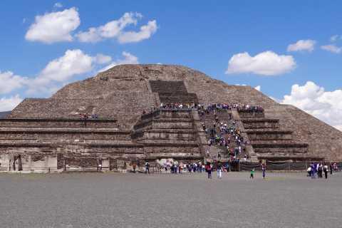 Tour de Teotihuacán, plaza de las Tres Culturas y Acolman