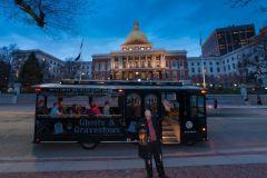 Boston: Excursão de Ghosts and Gravestones de 1,5 horas