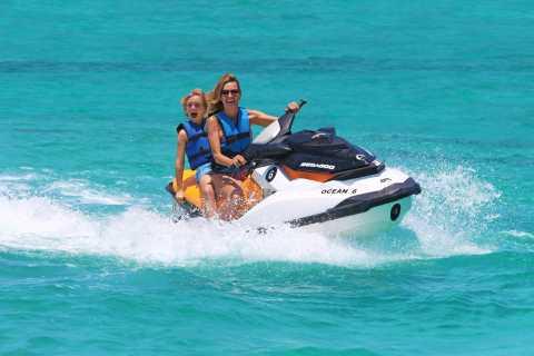 Desde Cancún y Riviera Maya: aventura quad y moto acuática