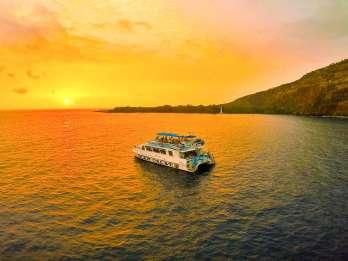 Hawaii: Historische Captain-Cook-Bootsfahrt mit Abendessen