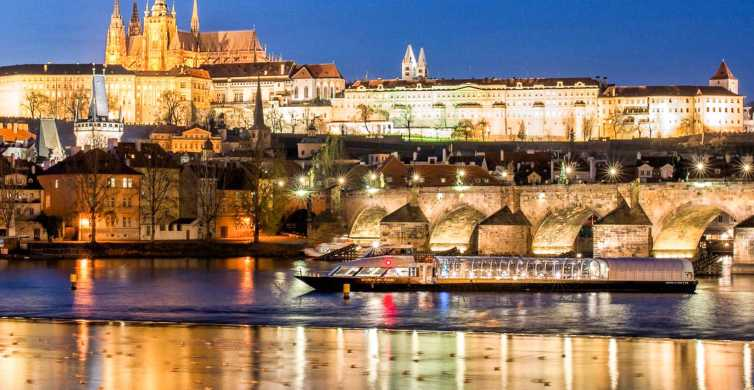 Prague by Night: 3-Hour Dinner Cruise