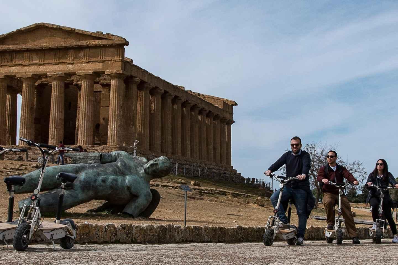Agrigent: Elektroroller-Tour durch das Tal der Tempel