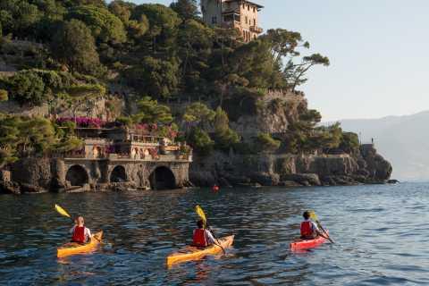 Excursión en kayak fácil a Portofino con snorkel opcional