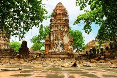 Bangkok: Templos de Ayutthaya e Mercado Flutuante