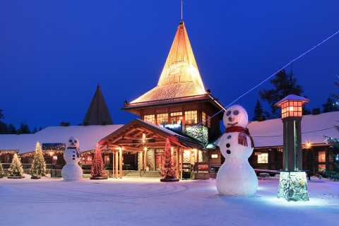 Rovaniemi: Santa Claus Village and Arctic Circle