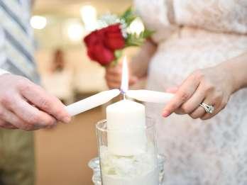 Las Vegas: Hochzeit mit Fahrt per Limousine