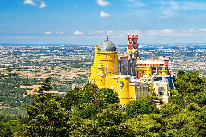 Ab Lissabon: E-Bike-Tour von Sintra nach Cascais