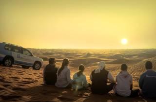 Dubai: Sahara-Dünen und Kamelritt mit BBQ in Al Khayma