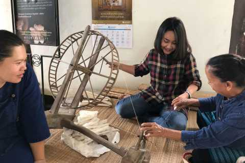 Chiang Mai Local Village Exploring with Weaving Experience