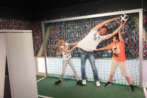 Familieticket: Skip-the-line Madame Tussauds Berlijn