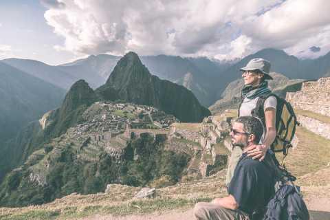 Machu Picchu: forfait visite guidée le matin et bus A/R